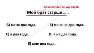 Rusça yds