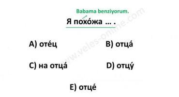 Rusça test