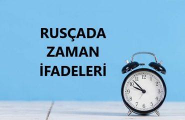 Rusçada Zaman